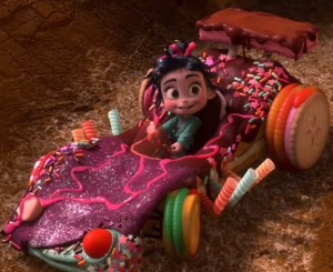 Wreck-It Ralph - Vanellope's Car