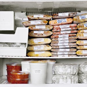 (Picture from Southern Living. I'm not nearly this organized!)